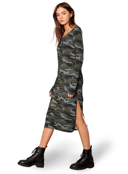 BB Dakota 'Can You See Me Now' Camo Dress