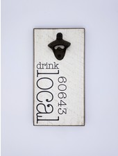 Rustic Marlin Personalized Drink Local Bottle Opener | 60643