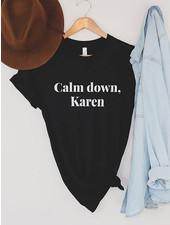 Alley & Rae 'Calm Down, Karen' Tee