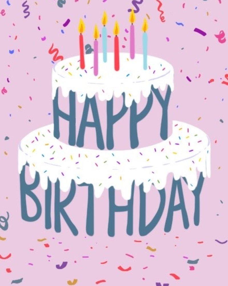 Belle Up Birthday Cake e-Gift Card