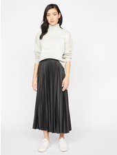 Sanctuary Clothing 'Top Secret' Pleated Midi Skirt **FINAL SALE**