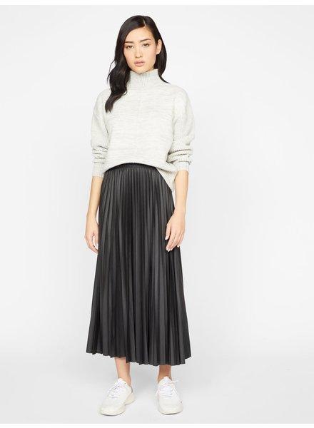 Sanctuary Clothing 'Top Secret' Pleated Midi Skirt