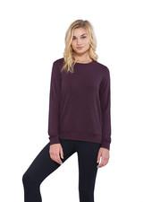Matty M Burgundy Zip Up Sweatshirt