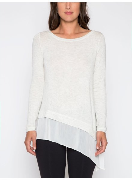 Matty M Asymmetrical Hem Top