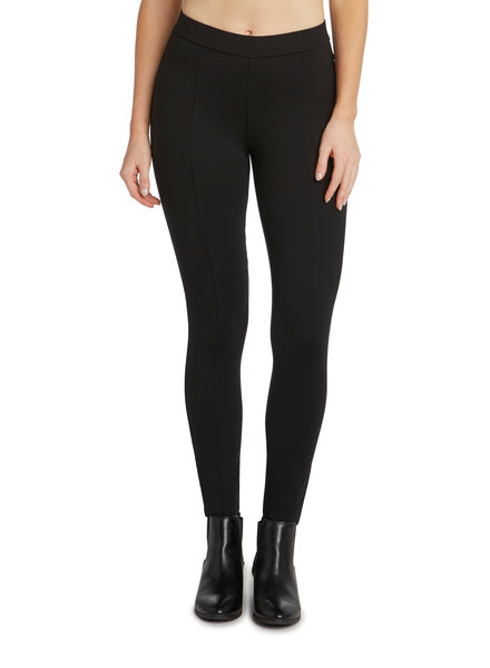 Matty M Black Seamed Leggings