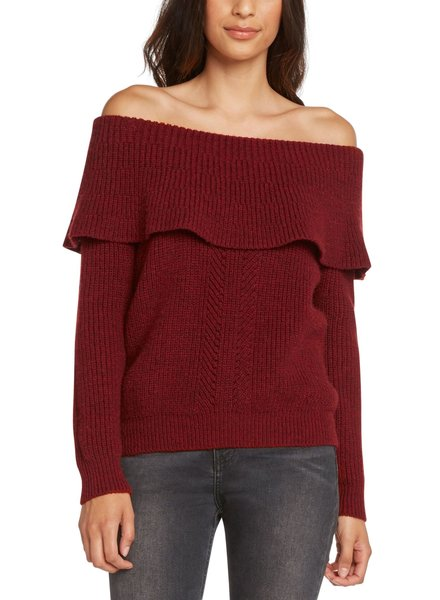 Willow & Clay Off Shoulder Sweater