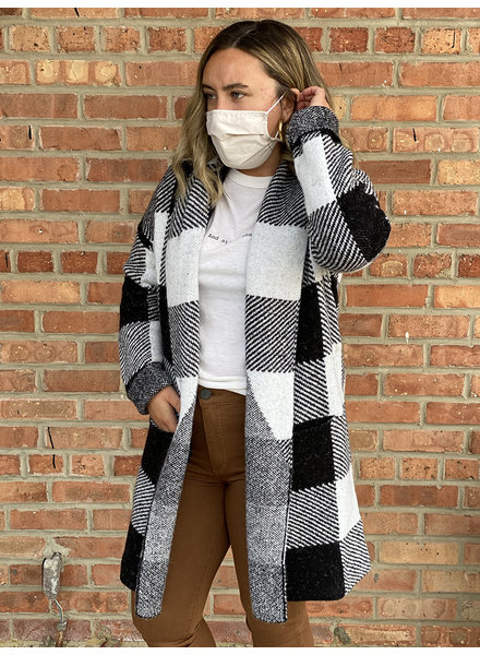 RD Style 'A Hint Of Winter' Sweater Coat