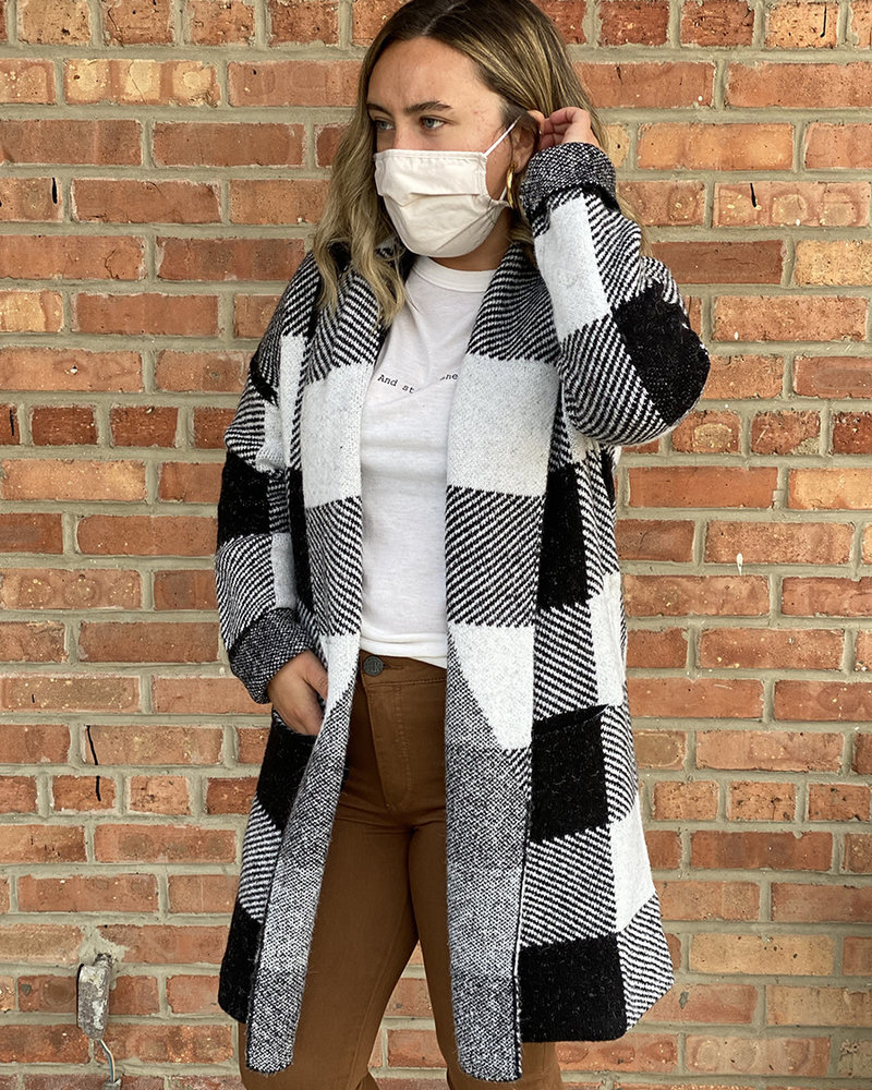 RD Style RD Style 'A Hint Of Winter' Sweater Coat