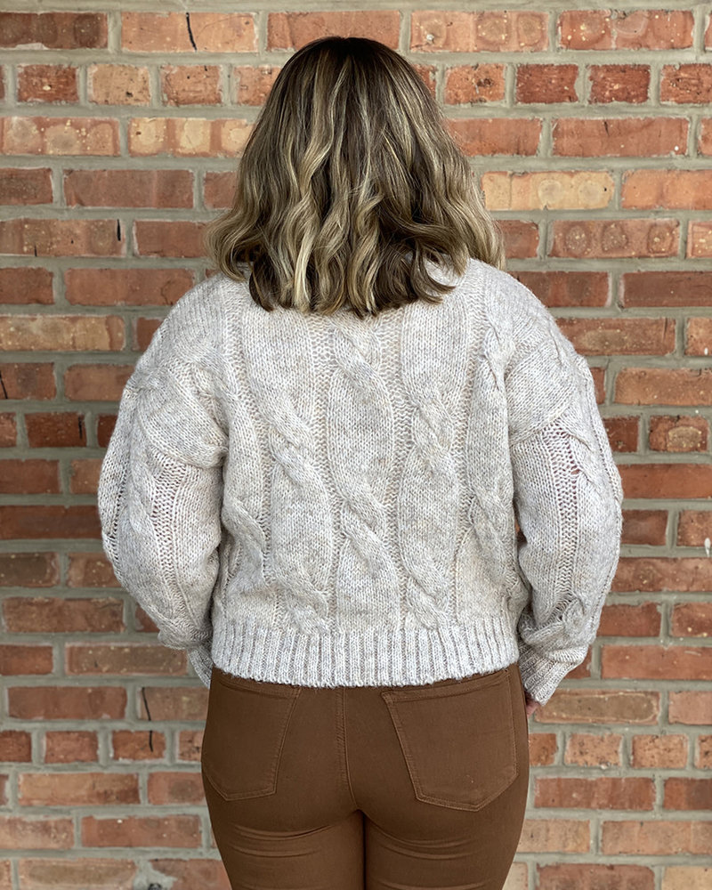 RD Style RD Style 'In Natural Lighting' Cropped Sweater