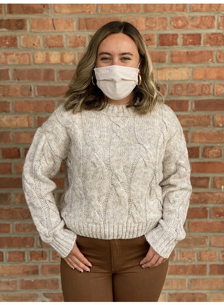 RD Style 'In Natural Lighting' Cropped Sweater