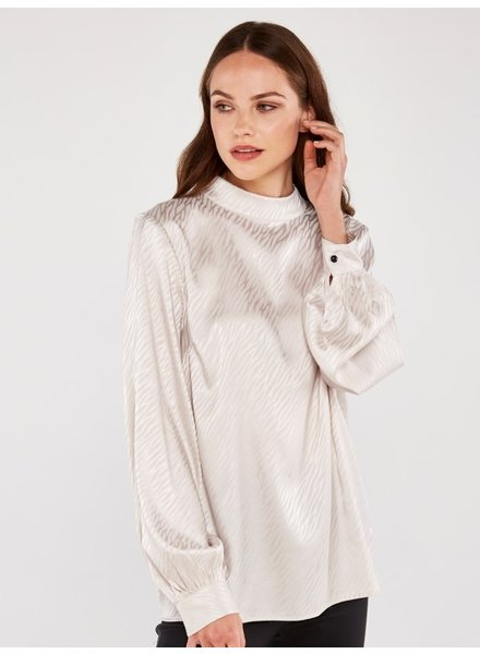 Apricot 'Smooth As Butter' Blouse **FINAL SALE**