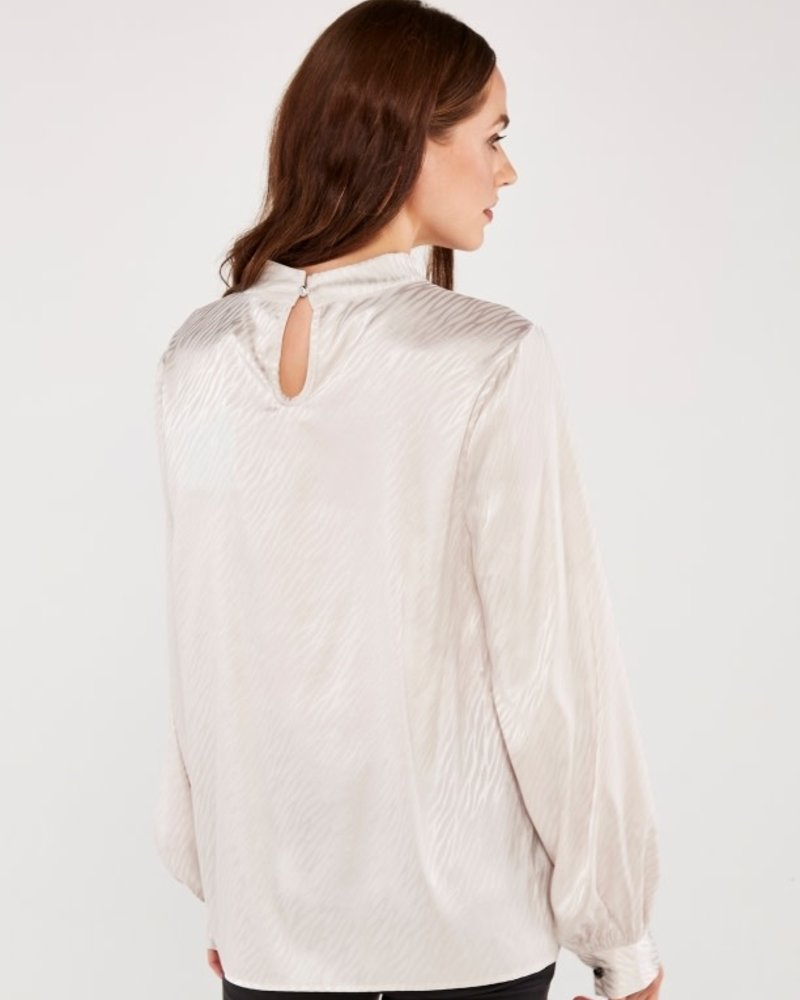 Apricot Apricot 'Smooth As Butter' Blouse