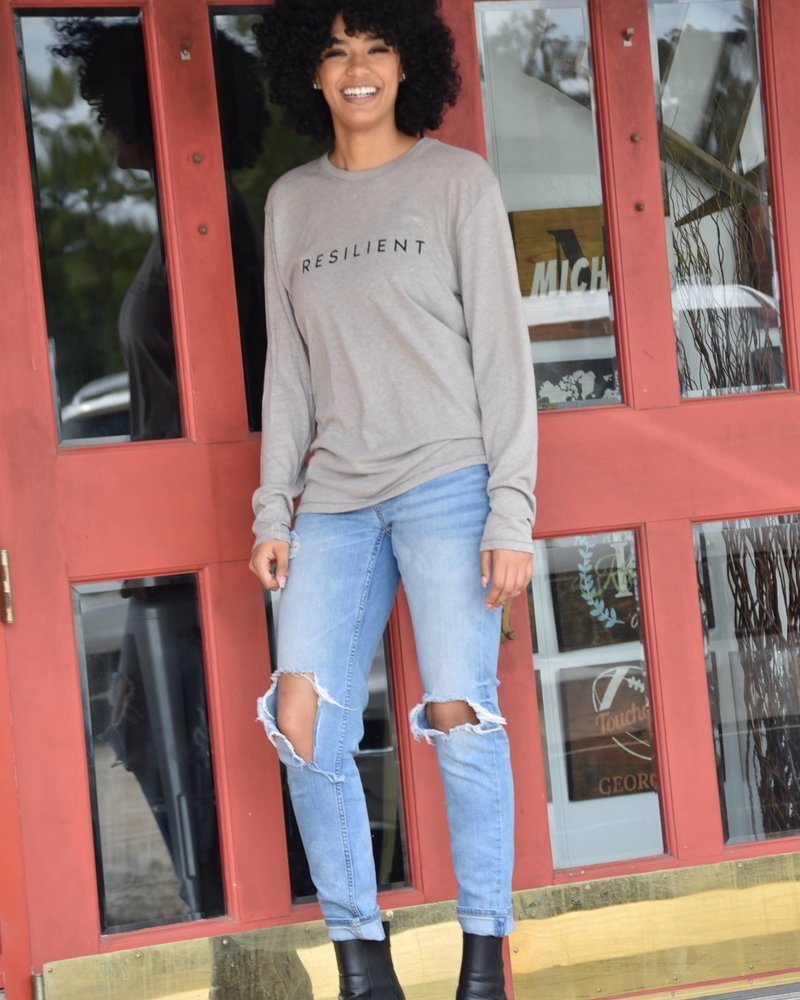 Know Purpose Know Purpose 'Resilient' Long Sleeve Tee