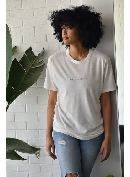 Know Purpose 'And Still, She Rises' Tee