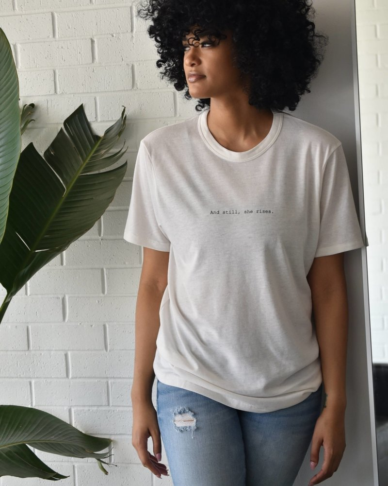 Know Purpose Know Purpose 'And Still, She Rises' Tee