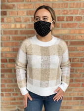 RD Style 'Aren't You Plaid To See Me' Sweater