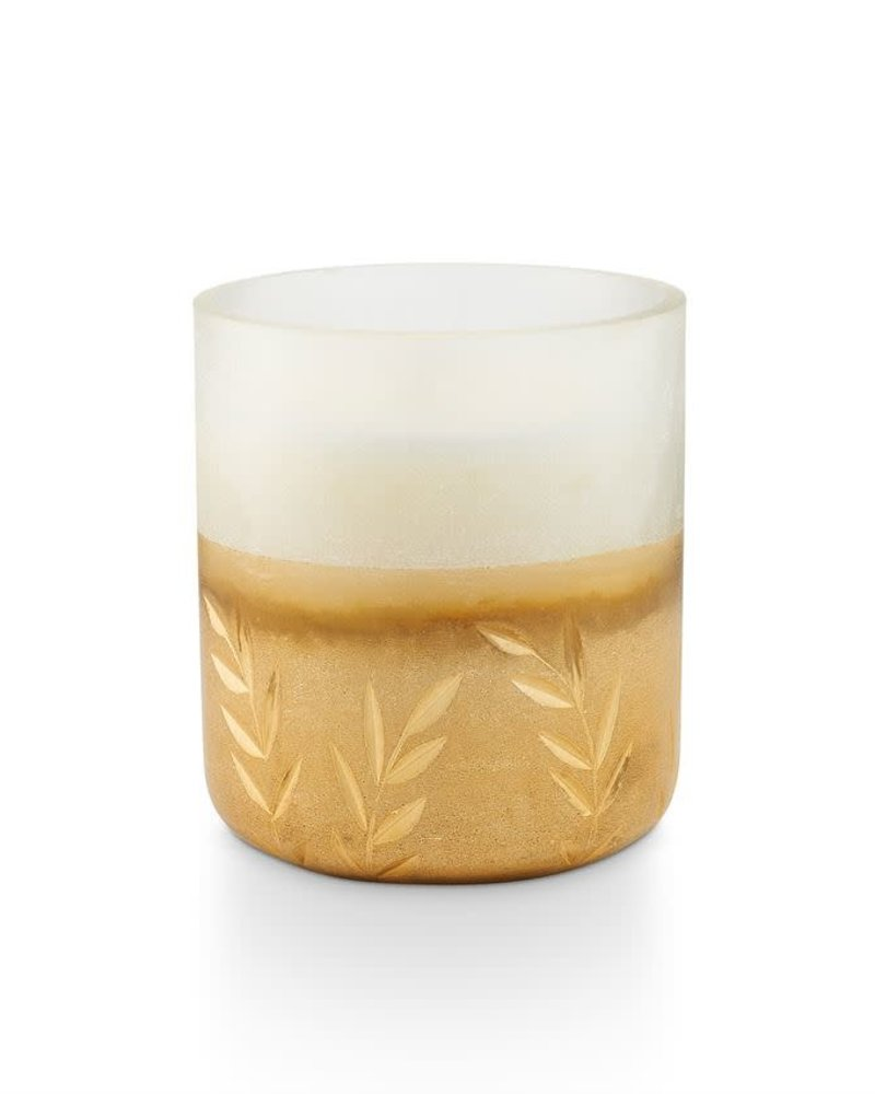 Illume Candles Illume Small Frosted Glass Candle in Winter White