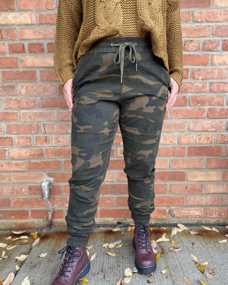RD Style RD Style 'Giving Orders' Camo Jogger
