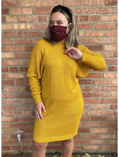 RD Style 'Hey Honey' Sweater Dress