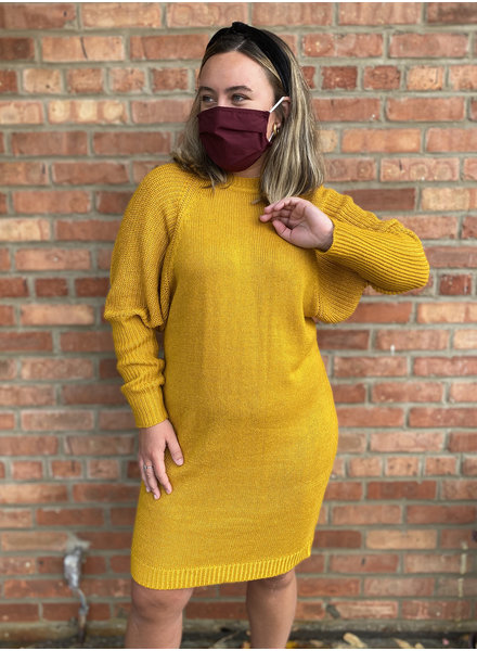 RD Style 'Hey Honey' Sweater Dress