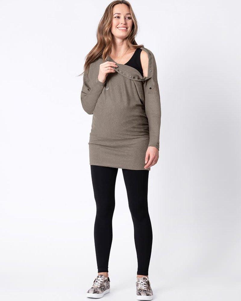 Seraphine Maternity Seraphine 'Jamila' Maternity/Nursing Sweater Tunic