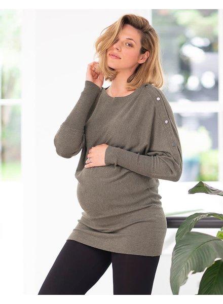 Seraphine Maternity 'Jamila' Maternity/Nursing Sweater Tunic