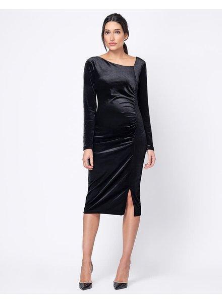Seraphine Maternity 'Morwenna' Ruched Midi Dress **FINAL SALE**