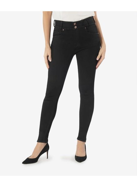 Kut from the Kloth 'Mia' High Rise Skinny Jeans in Black