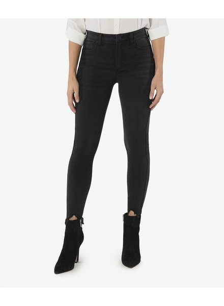 Kut from the Kloth 'Connie' Fab Ab Ankle Skinny Jeans in Black (Size 4)