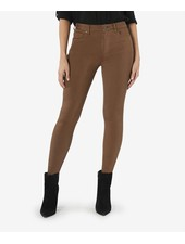 Kut from the Kloth 'Mia' Fab Ab High Rise Skinny Jeans in  Whiskey