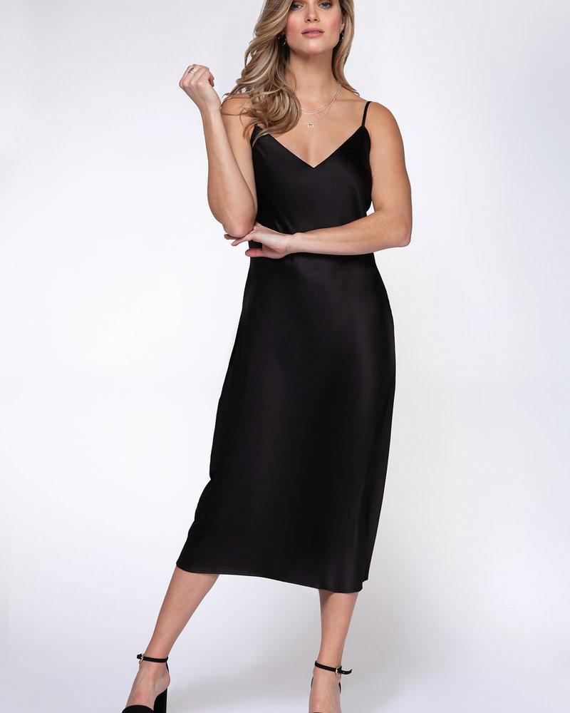 Black Tape Black Tape 'What A Night' Slip Dress