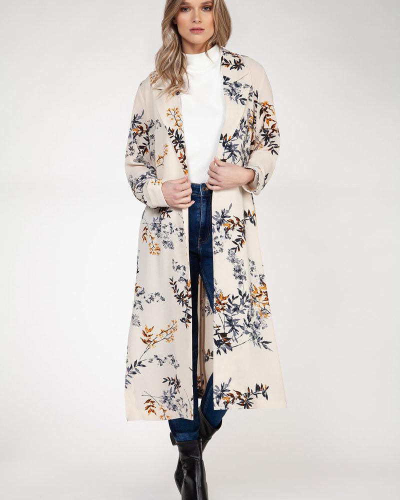Black Tape Black Tape 'Fallen Leaves' Kimono