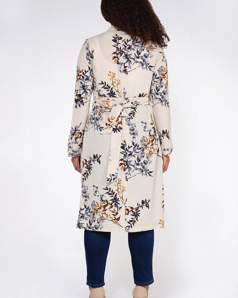 Dex Plus Dex Plus 'Fallen Leaves' Kimono