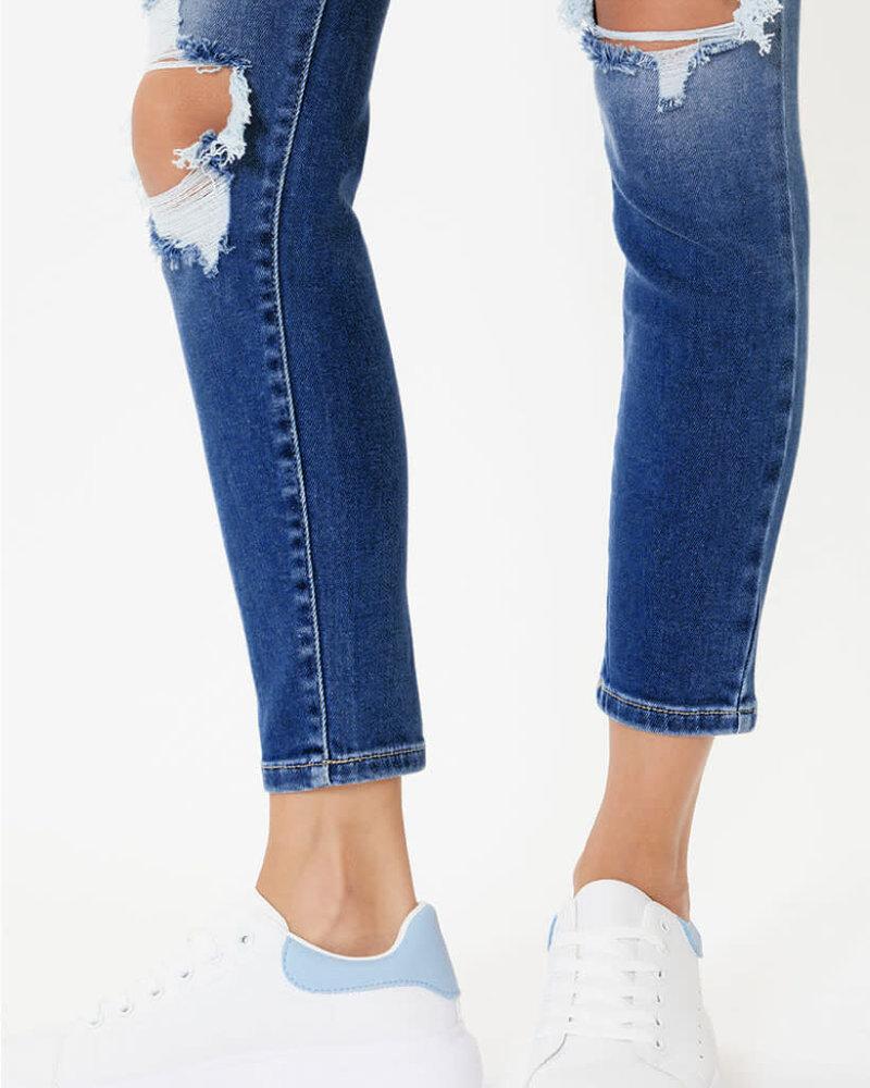Kancan Kancan 'Betsy' High Rise Super Skinny Jeans
