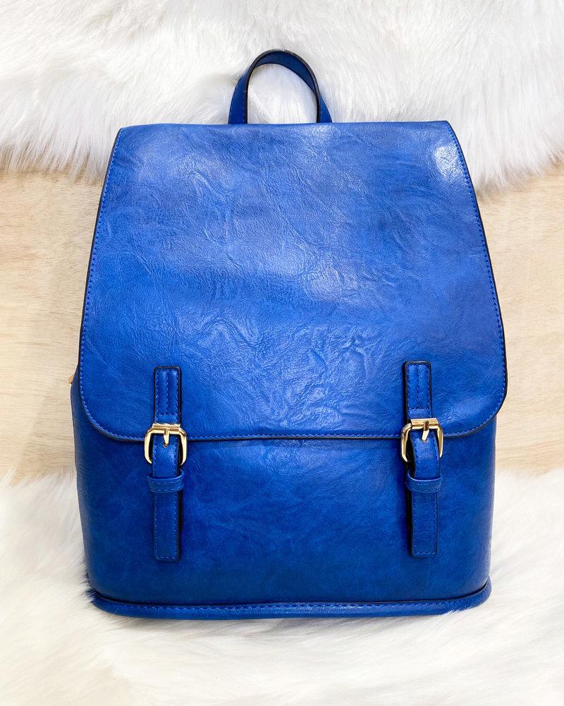 Belle Up 'Diego' Belted Backpack