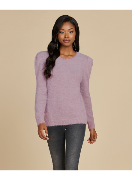 Willow & Clay Chenille Stitch Bousant Sleeve Sweater **FINAL SALE**
