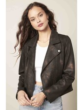 Cupcakes & Cashmere 'Thalia' Vegan Leather Jacket