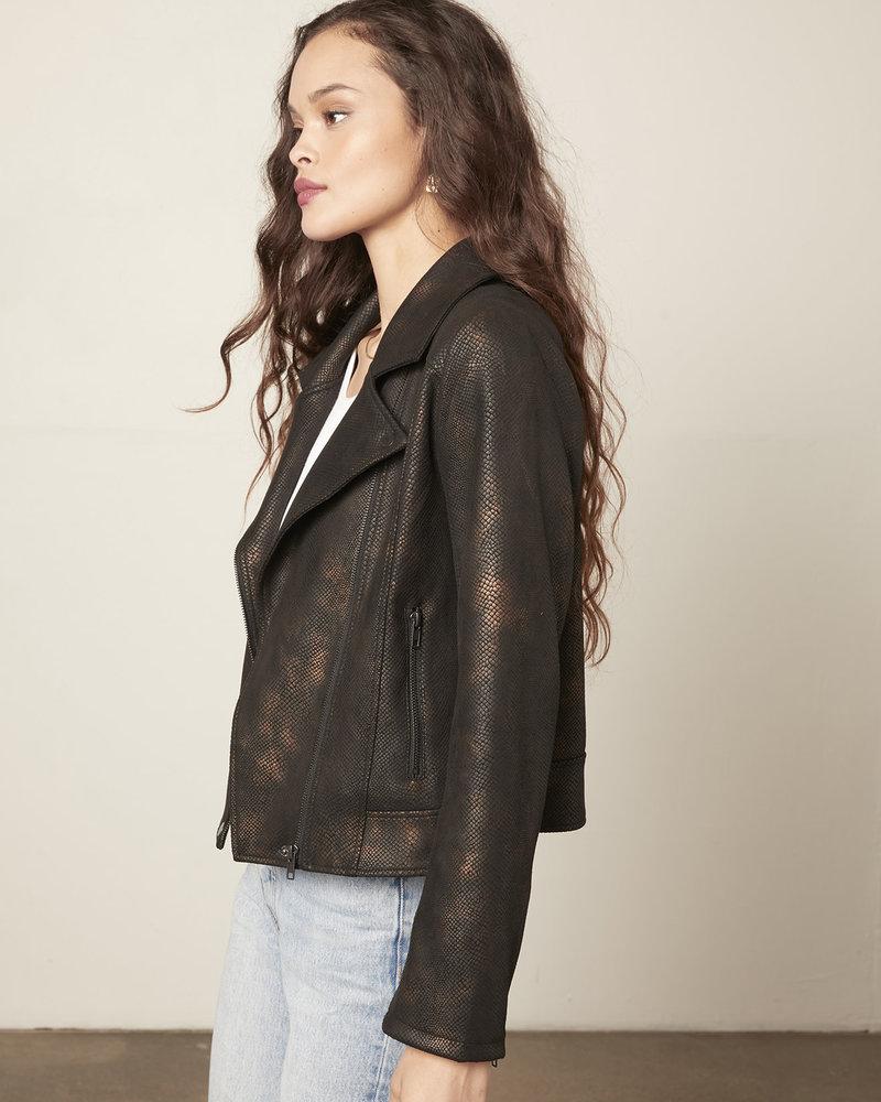 Cupcakes & Cashmere Cupcakes & Cashmere 'Thalia' Vegan Leather Jacket **FINAL SALE**