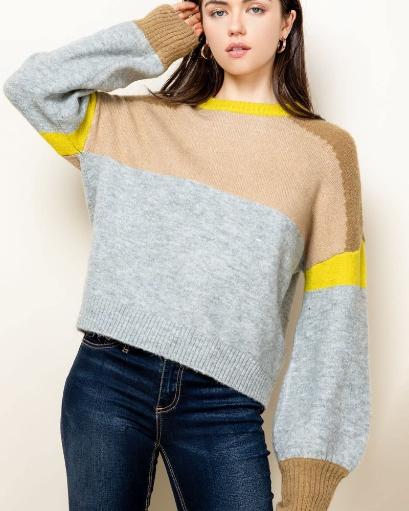 THML THML 'Don't Get Blocked' Sweater