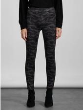 Sanctuary Clothing Black Camo 'Runway' Faux Suede Legging **FINAL SALE**