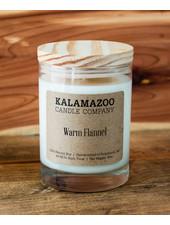 Kalamazoo Candle Co. Jar Candle in Warm Flannel