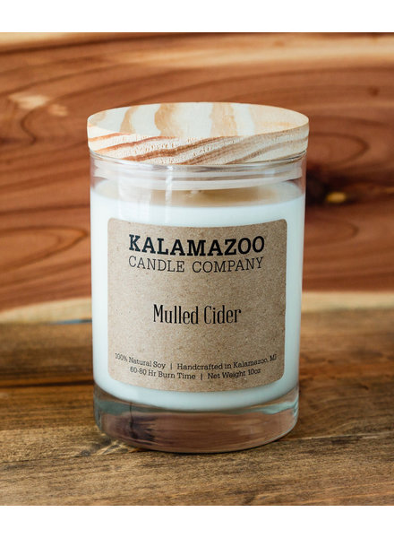 Kalamazoo Candle Co. Jar Candle in Mulled Cider