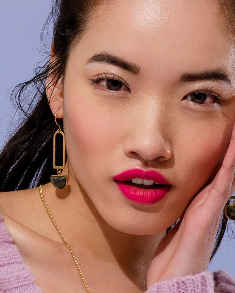 Larissa Loden Larissa Loden Malachite 'Casablanca' Earrings