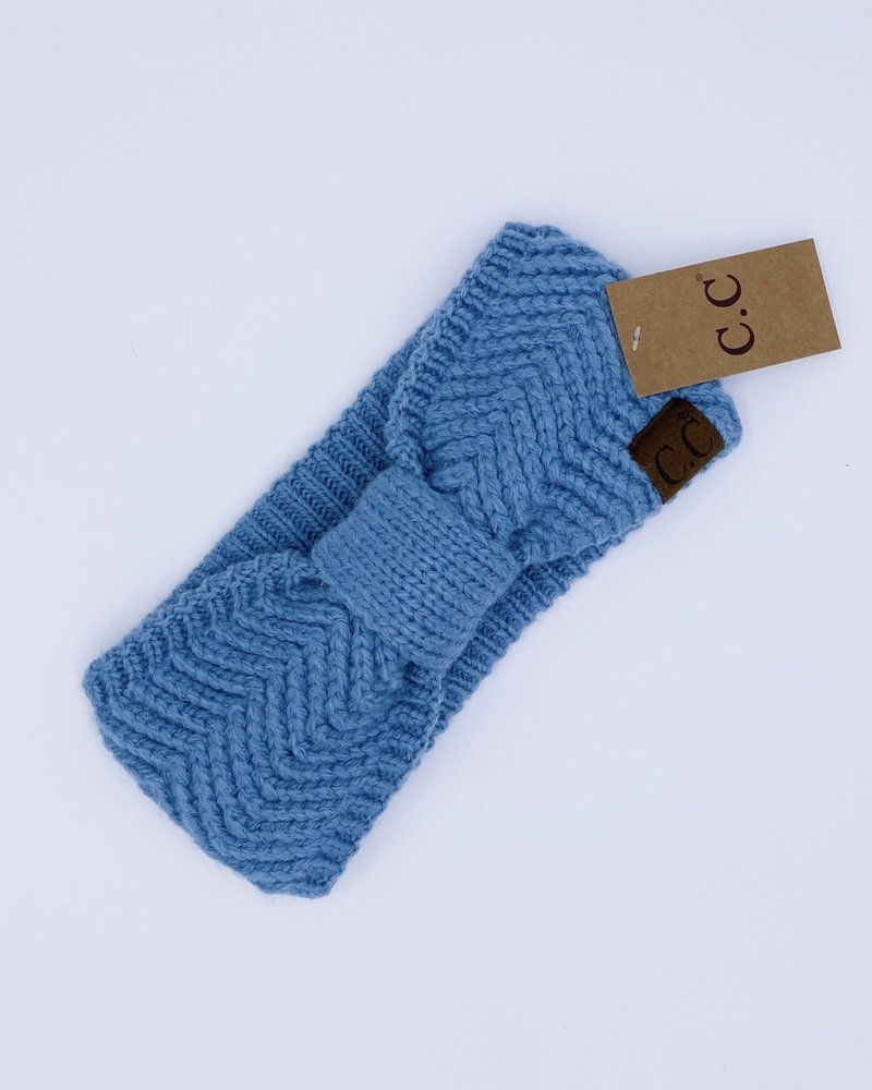 CC Bow Knit Headband