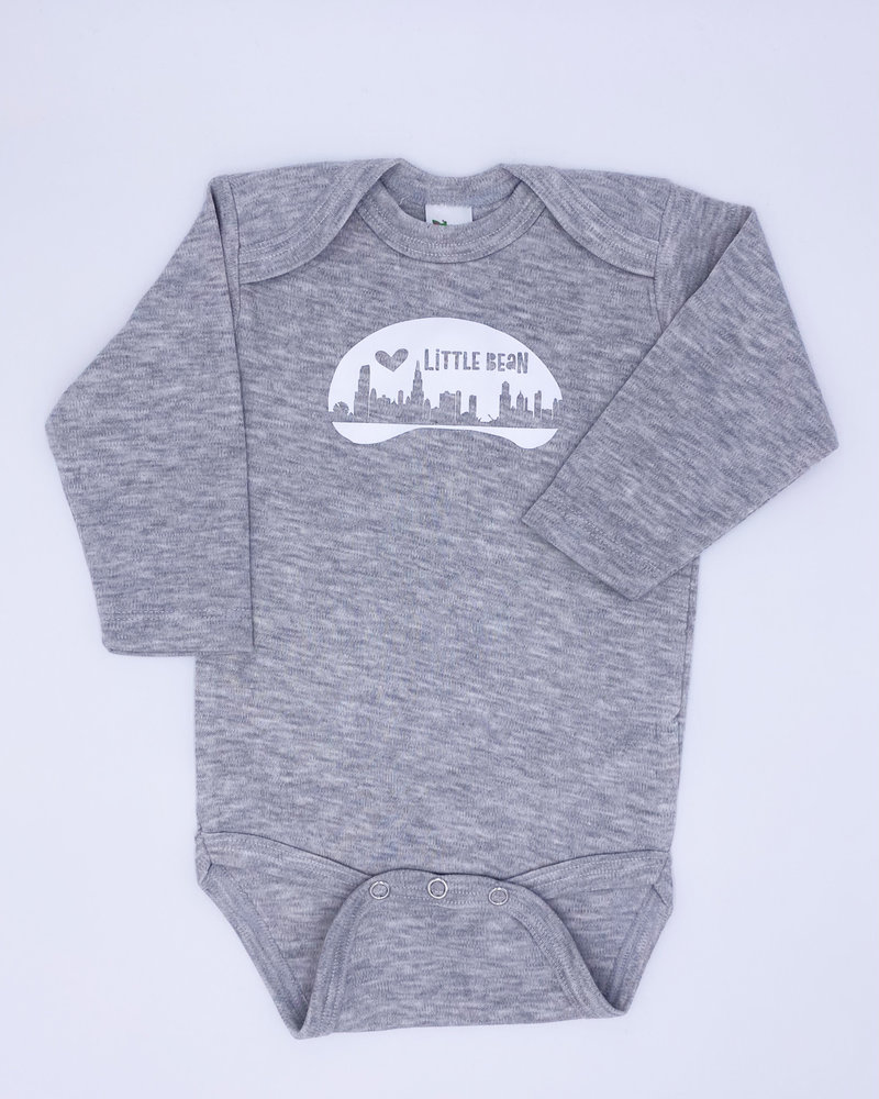 Emerson & Friends Emerson & Friends Long Sleeve 'Little Bean' Onesie