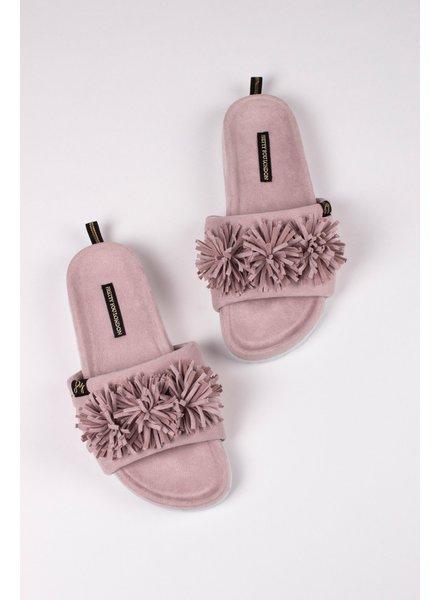 Pretty You London 'Albany' Slides Gift Set | Mink