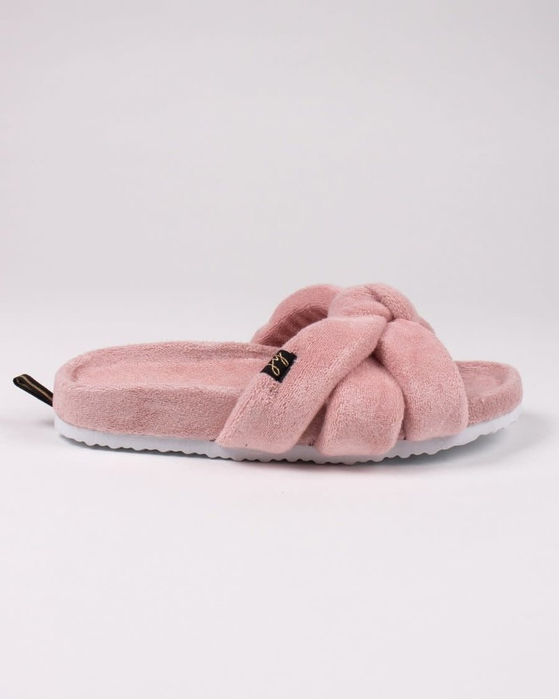 Pretty You London Pretty You London 'Ariel' Slides Gift Set | Pink