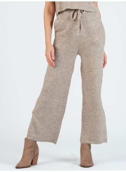 Lucca Couture 'Teff' Sweater Knit Pants (Large) **FINAL SALE**