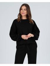 Lucca Couture 'Bucharest' Raw Hem Sweatshirt