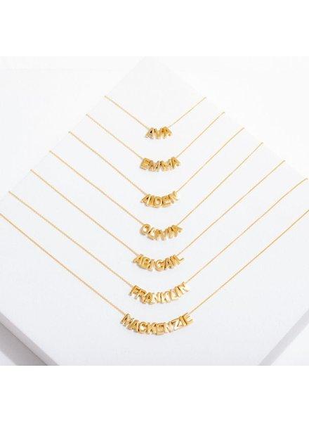 Larissa Loden Custom Letter Necklace | Special Order
